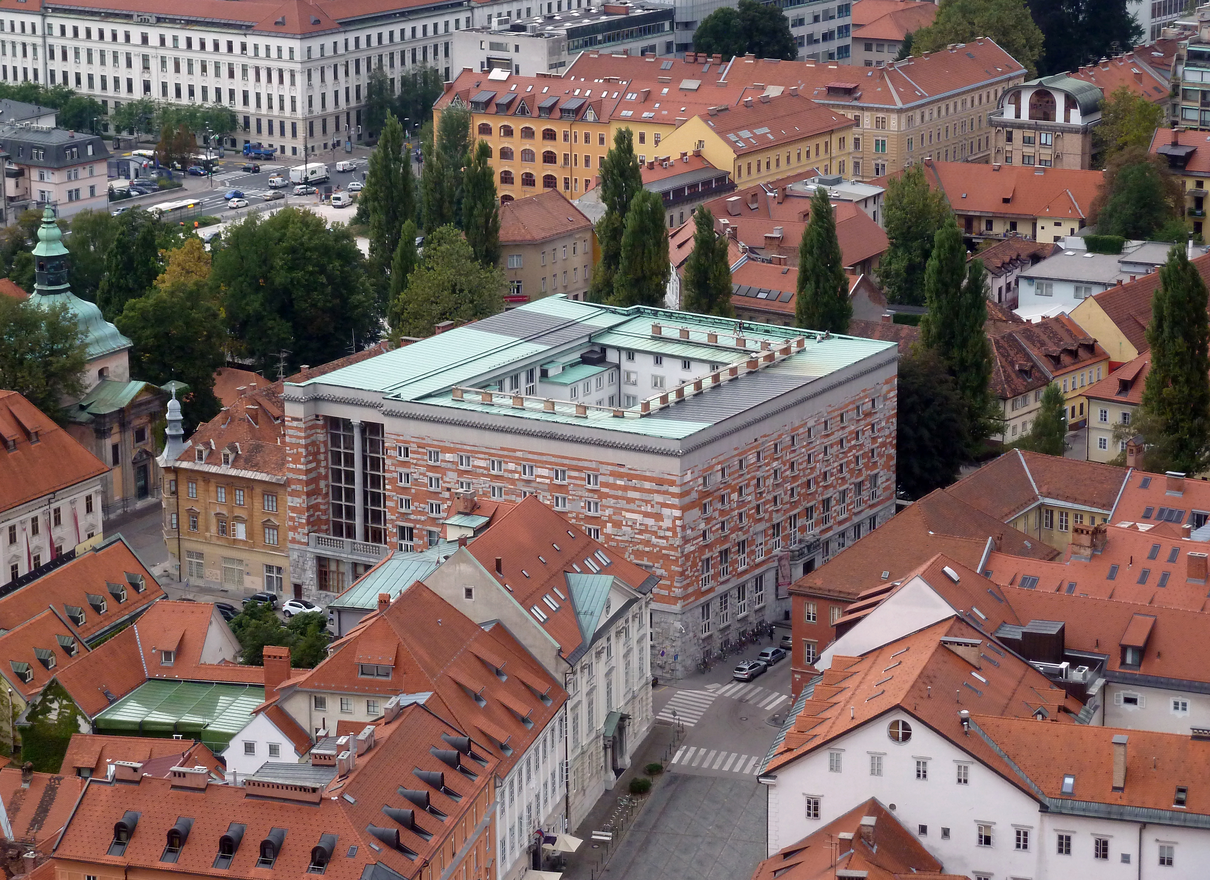 Architecture and its Financial Context: National and University Library in Ljubljana